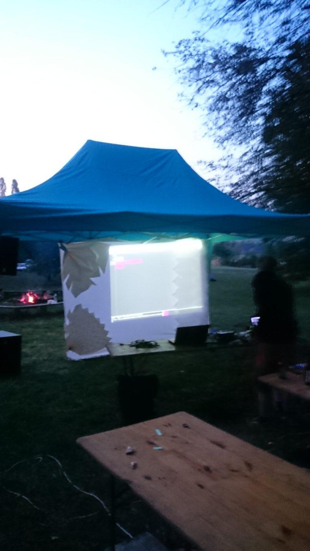 Crashserver livecoding Cosmik Festival