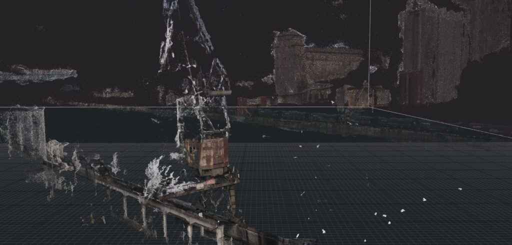 PortduRhin pointcloud Photogrammetry Strasbourg mmxx