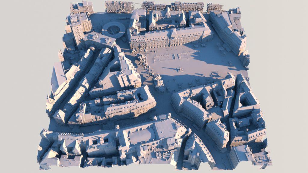Dataset Strasbourg 3D MMXX