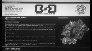 CrashServer OS Endless Festival live coding