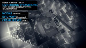 Live Coding Strasbourg at Home ! @ Live Streaming – 09 may 2020