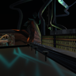 Headquarter - the bar - mozilla hubs 3d VR